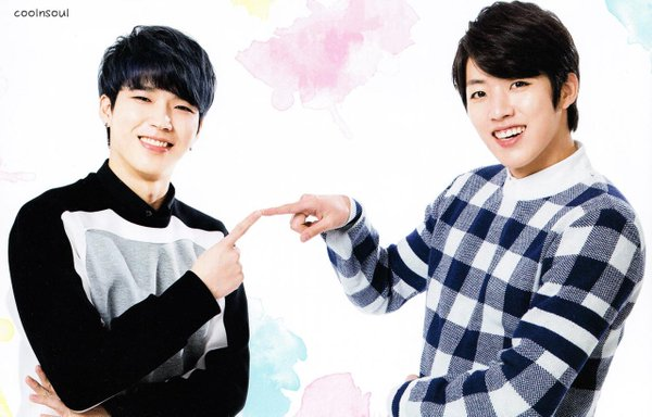 High school : Love-on Woohyun and Sungyeol Interview ...